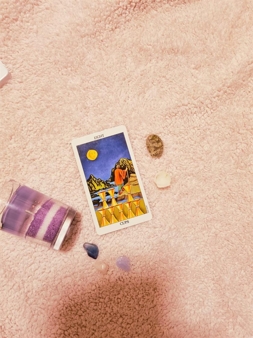 Eight Of Cups Indolence & Letting Go