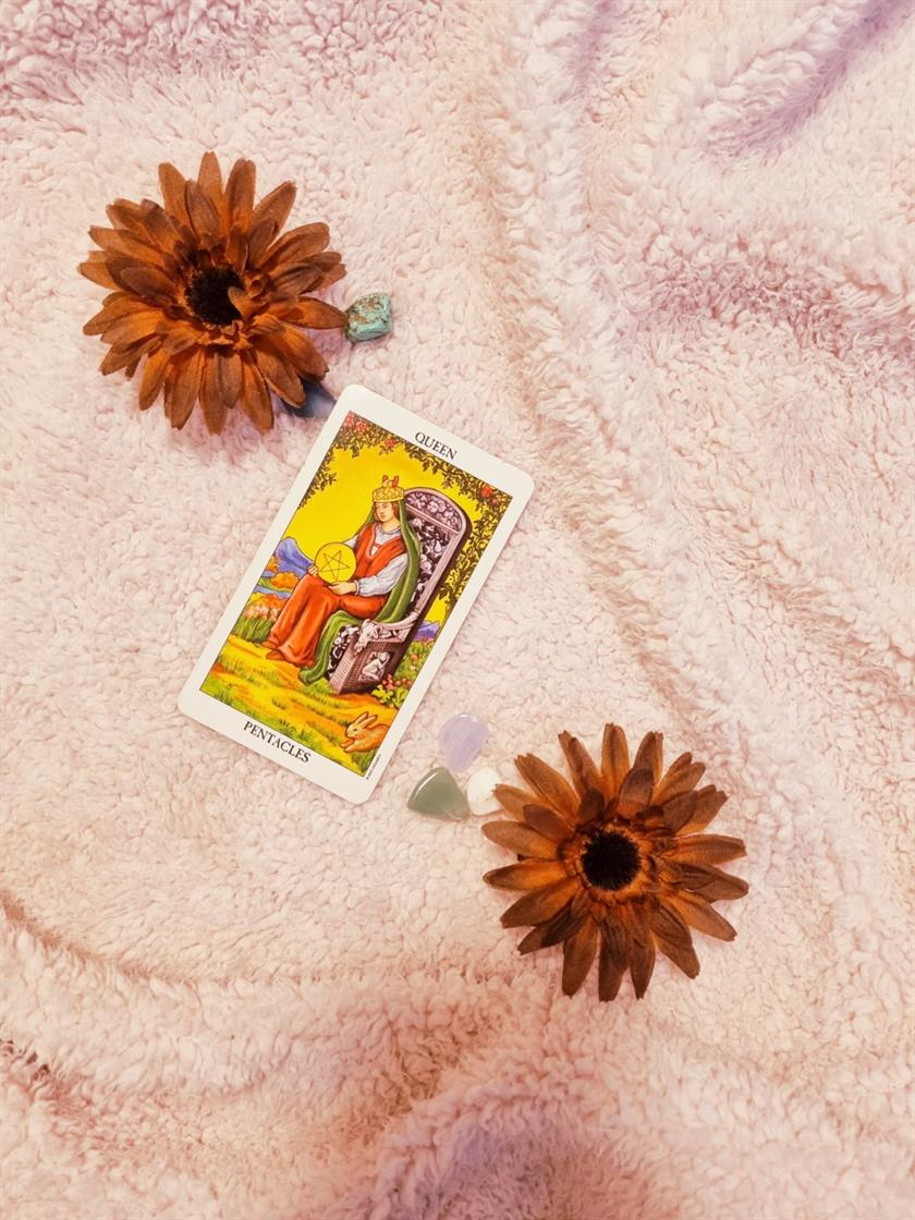 Queen of Pentacles The Woman Who Creates Abundance