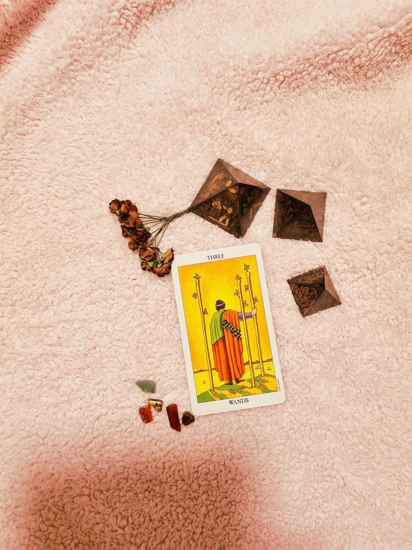 Three Of Wands Virtue & Expansion