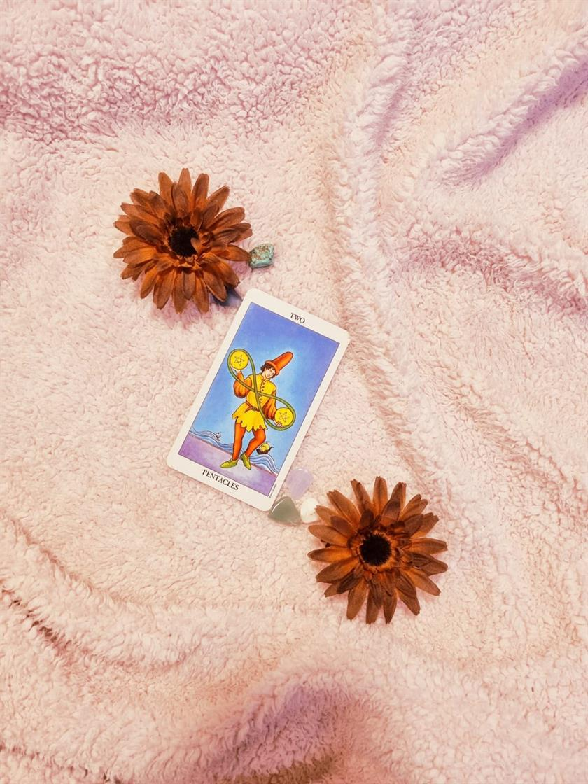 Two Of Pentacles Change & Balance